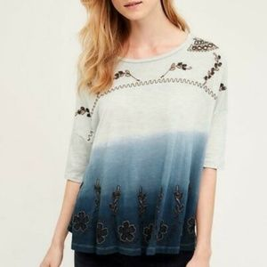 1635 Anthropologie Akemi + Kin Tulsi Swing Top S